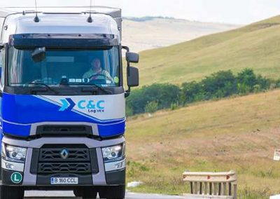 transport international rutier camion