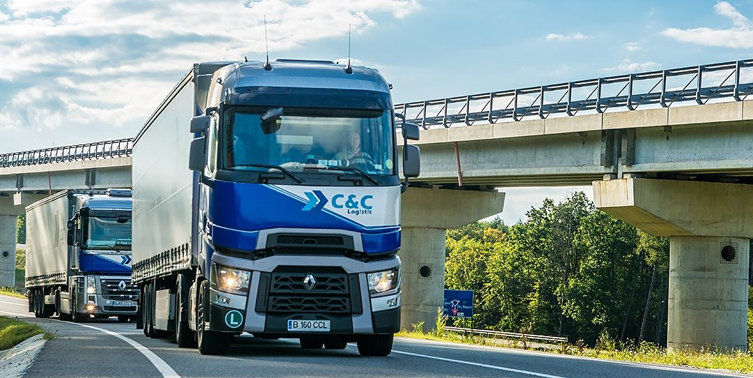 RENAULT TRUCKS, a trustworthy brand for C&C LOGISTIC